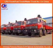 Heavy Duty DONGFENG 8*4 Truck mounted crane