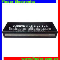 HDMI Splitter 8 Port 1.3 Hdmi Splitter 3D 1x8 HDMI 1 In 8 Out splitter Support HDTV 1080P