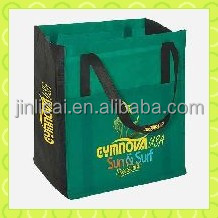 gift promotional foldable eco pp non woven shopping bag