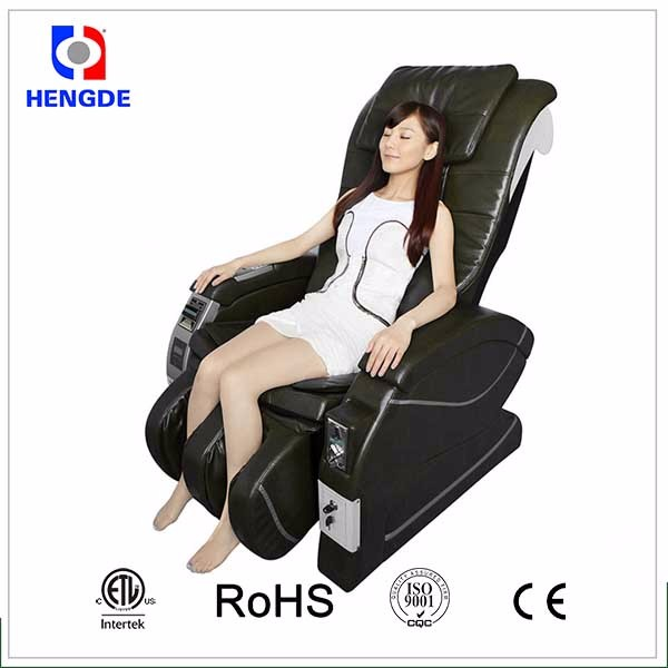 Customized bank notes dollar operated vending massage chair