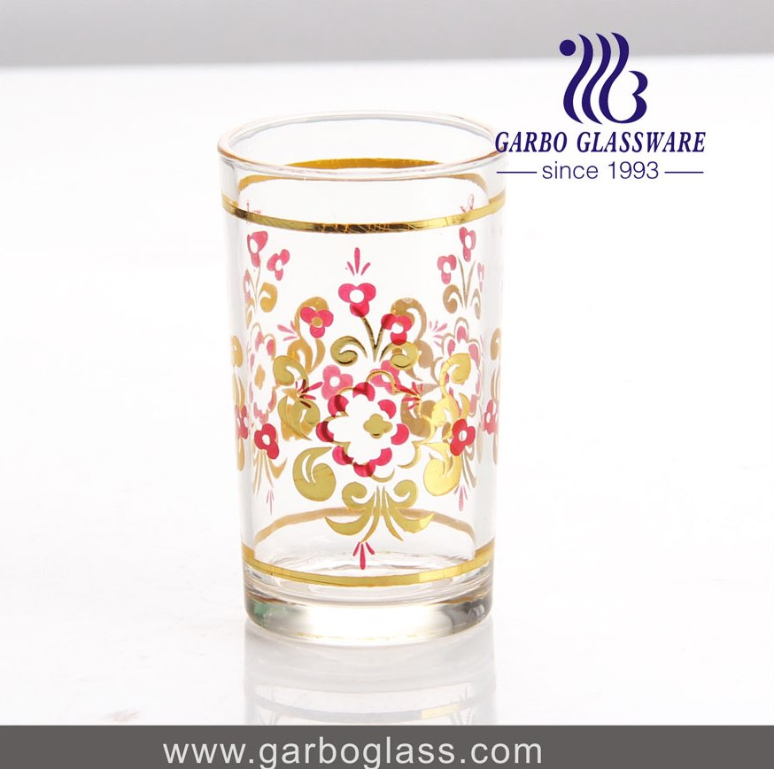 OEM factory gold drawing cheap wholesale bohemia crystal glassware