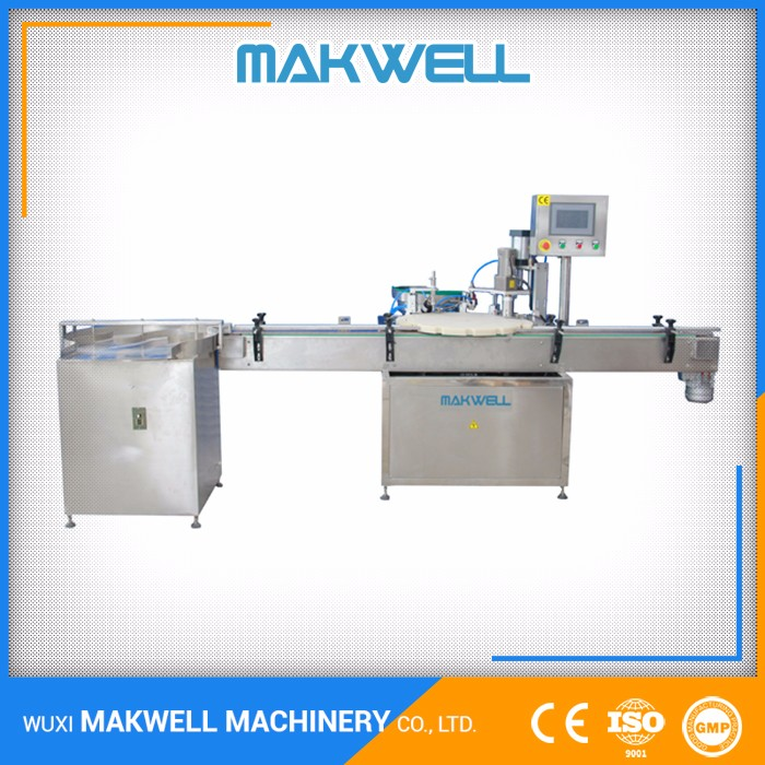 Double head Magnetic Pump bottle semi auto filling machine