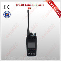 The latest 5W 256CH Dual Modes of Analog Portable UHF dmr radio WEIERWEI D8