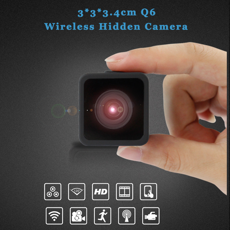 TianboTech Infrared Night Vision Spy Camera for Iphone Android Hidden cctv <strong>Security</strong> P2P Mini Wireless Wifi IP Camera