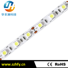 China good quality 5000k 5050 smd led strip light 12v flexible led light strip 5050 with 3 years warranty