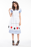 Adorable Alice Ladies Fairytale Fancy Dress Book Week Costume Outfit