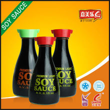 Superior 150ml table glass bottle light soy sauce