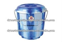 Bathroom Plastic Bucket With Lid