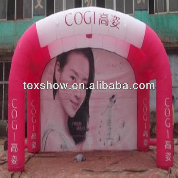 inflatable fabric for decorating tent [flame retardant,light weight,high tensile)
