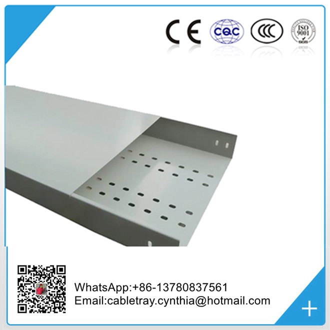 Steel material perforated cable tray variety sizes and lowest price
