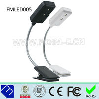 LED Clip-on e-reader reading light