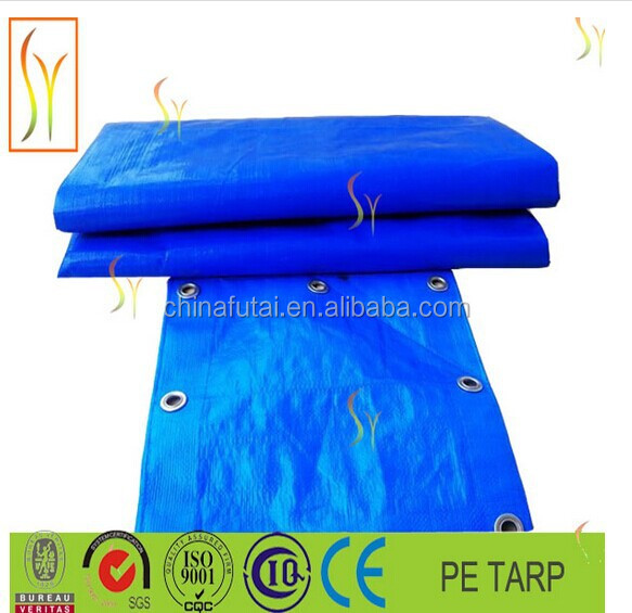 PE coated tarpaulin/fire resist truck cover fabric