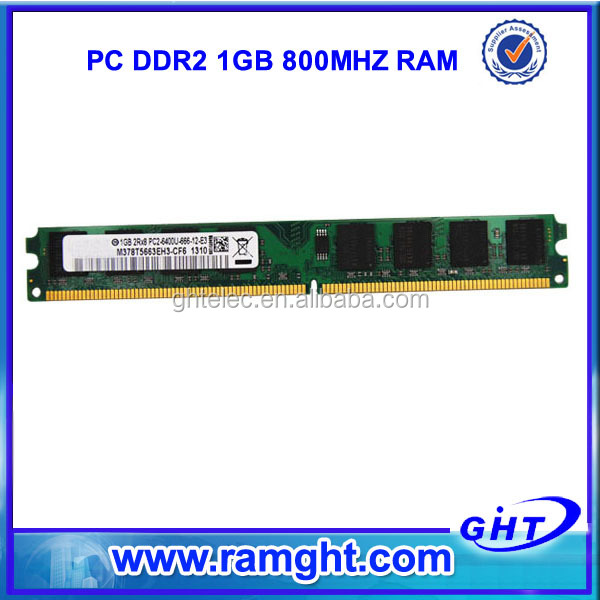 Chinese wholesale 64mbx8 pc800 ddr2 1gb ram