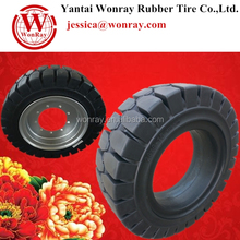 Cheap solid forklift tire 28*9-15 for Hyster forklift tire repair