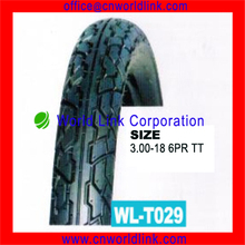 3.00-18 6PR Rubber Wholesale Motorcycle Tire Price