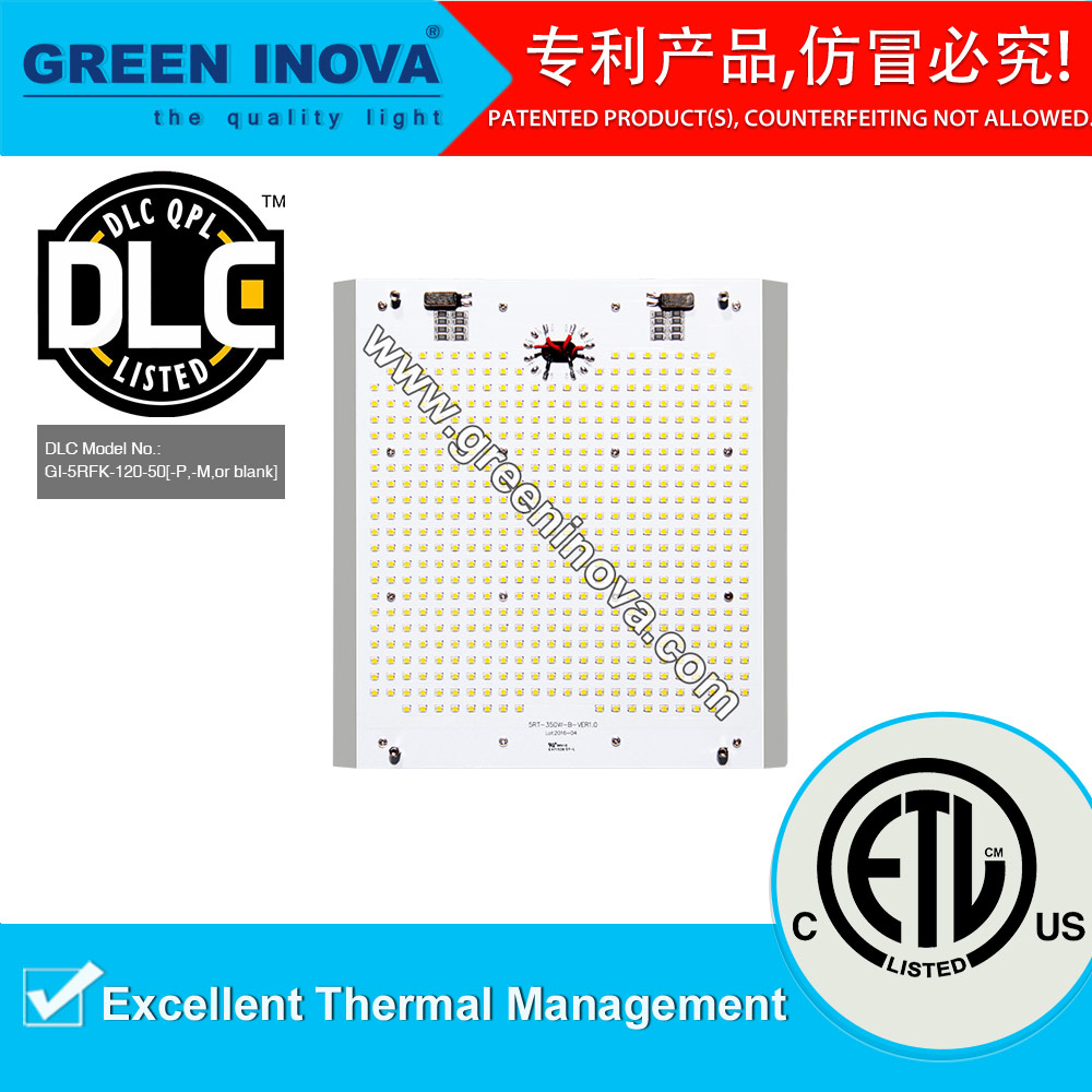2017 ETL cETL DLC Premium listed Top quality 100000 hours lifespan Shenzhen LED Street light retrofit kit