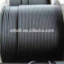 Factory direct sale hot-dip galvanized wire rope soft size from China supplier