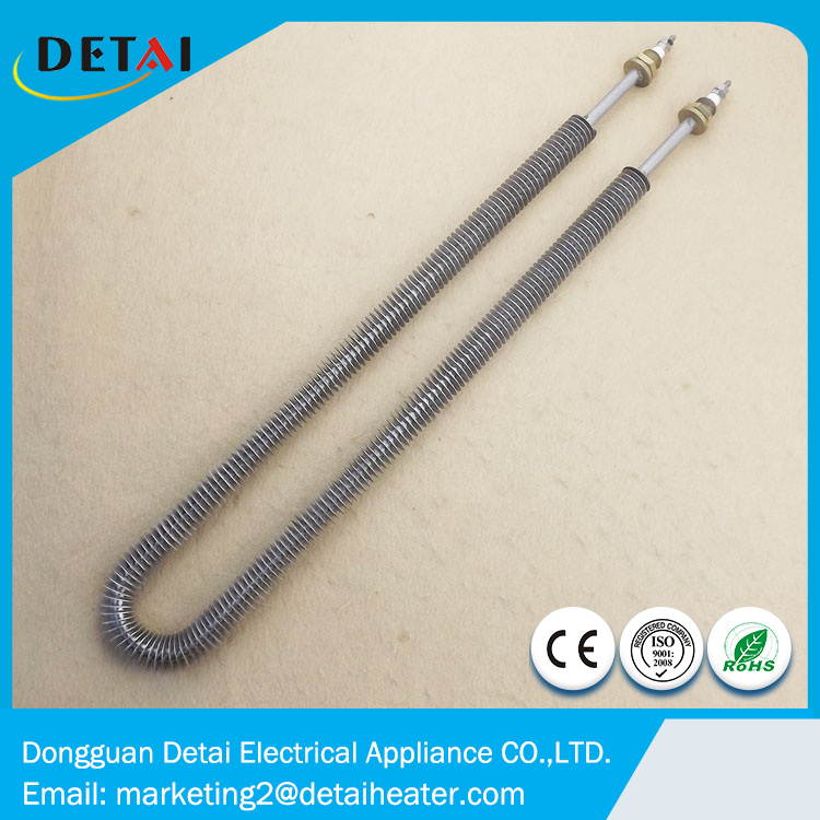 Heat Exchanger Fin Heating Pipe Tubular <strong>Heater</strong> 230v 1500w