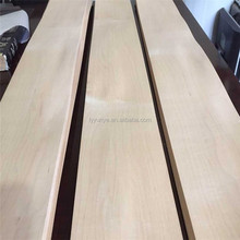 Masterpiece A grade Natural Canadian maple wood veneer for skateboards