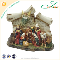 Resin Christmas Nativity Figure Nativity Set Decoration