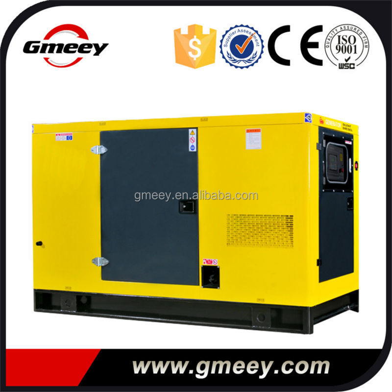 Gmeey Soundproof Canopy Type 25kva 20kw fuel less generator