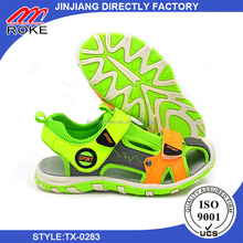 Beach Kids Sandals Rubber Sole Shoes sandals from taixin factory