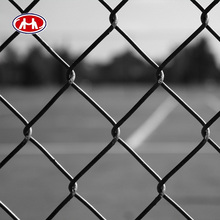 factory direct sale low price heavy duty high strength blue color vinyl coated decorative garden border chain link fence