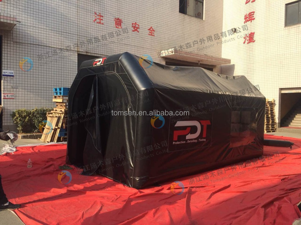Outdoor giant inflatable dome car tent/capsule for classic sports car