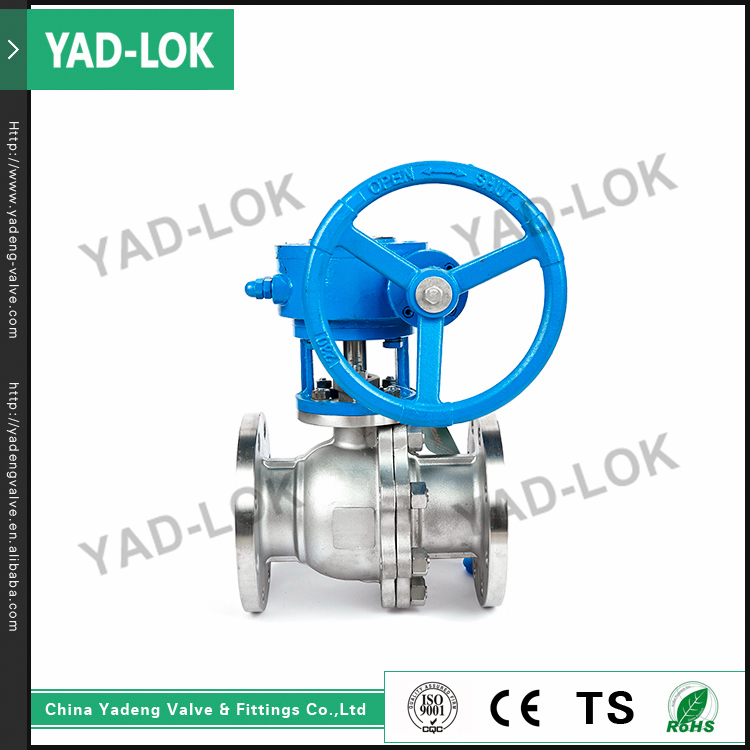 YAD-LOK Best Valve Price Spring Loaded Mini Air Manual Stainless Steel Ball Valves