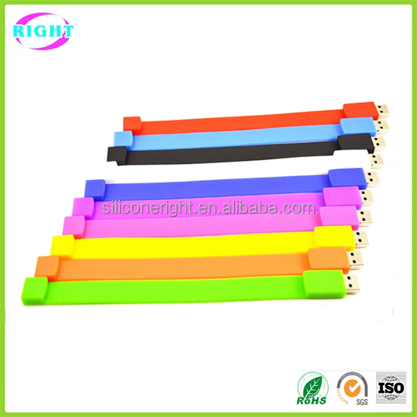 various color wristband usb drive best price