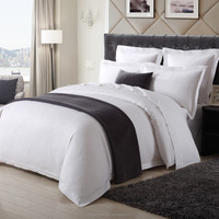 Hotel Linen White Duvet Cover Sets