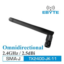 New Ebyte high gain TX2400-JK-11 2.5dBi 2.4GHz SMA-J rf radio Omnidirectional Antenna