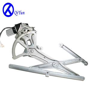 Car driver side door window regulator with motor