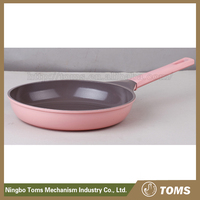 2015 new style 28cm Aluminum green ceramic coating frying pans