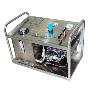 Portable Pneumatic hydrostatic testing machine for Valve pipe tube