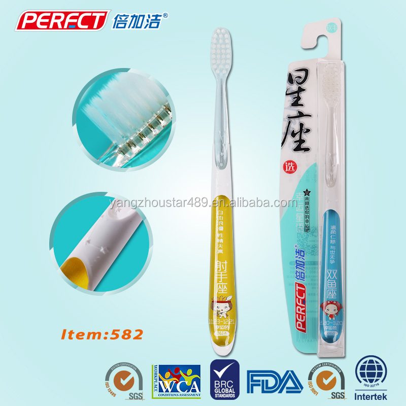 Constellation Transparent Personalized Adult Toothbrush