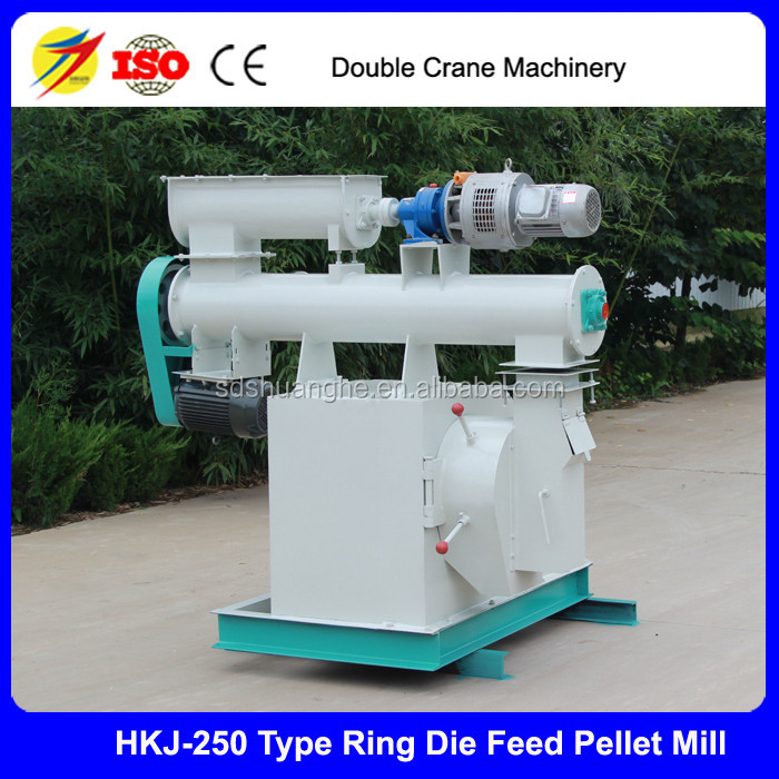 Warranty 3 years cattle feed pellet machine prices 1T/H animal feed pellet machine for sale