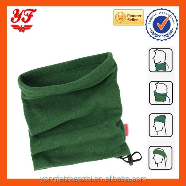 Single Layer Wholesale Polar Fleece Neck Gaiter Round Cheap Neck Warmer