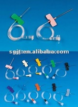 medical butterfly scalp vein set infusion needle