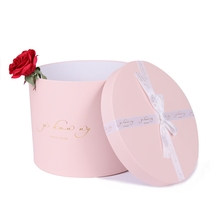 Wholesale cardboard packaging flower rose bouquet boxes