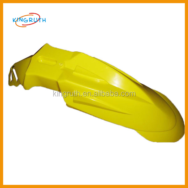 Yellow CRF 50 Plastic the front fender dirt bike off-road motorcycle front fender