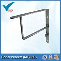 Decorative metal building brackets