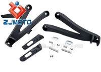ZJMOTO Frame Fitting Stay motorcycle foot pegs Footrests Step Bracket Brake Assembly Fit For CBR 600RR 2008 Rear