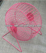 New arrival big size pink wire mesh hamster ball cage
