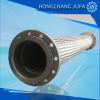 Big size vibration absorbing flange stainless steel braided flexible metal pipe