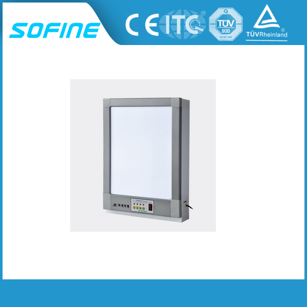 High Brightness Medical Aluminum Alloy Double X Ray Film Viewer