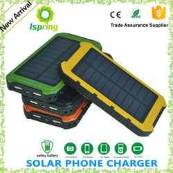 Mobile solar battery case for Iphone 6, solar mobile power bank