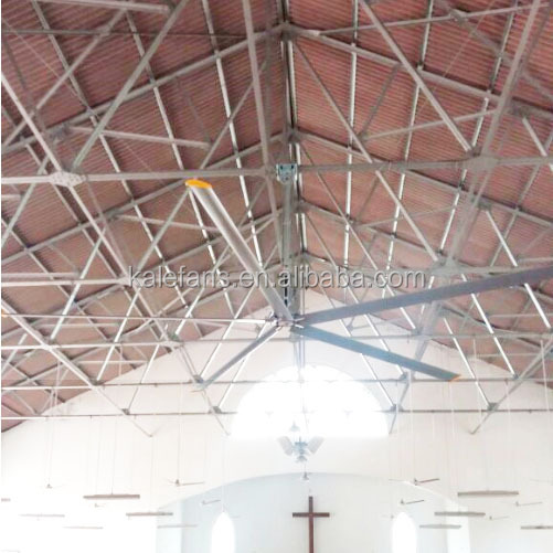 Church High Quality Low Noise Cooling Large Industrial Ceiling Fan