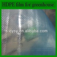 high tensile strength very durable uv resistant agricultural protective plastic film for greenhouse