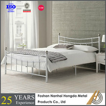 simple design iron double bed design for bedroom
